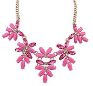European Style Fashion Style Flower Necklace