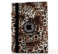 Sexy Pattern Leopard Print 360 Degree Rotating Stand Smart Case Cover for iPad Air 2