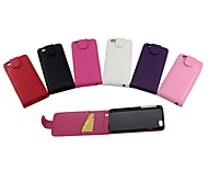 Protective PU Leather Magnetic Vertical Flip Case Cover Shell Protector for iPhone 6G(Assorted Colors)