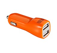 Colorful Dual Port USB Car charger