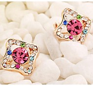 Love Is Your Fashion Diamond with Diamond Stud Earrings