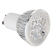 GU10 4W 4 High Power LED 360 LM Natural White Dimmable LED Spotlight AC 220-240 V