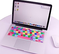 "Colorful Soft Silicone Keyboard Cover Protector Skin for MacBook MAC 13.3"" 15.4"" 17"" US Model"