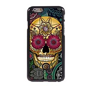 Petal Skull Design Aluminum Hard Case for iPhone 6 Plus