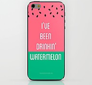 Watermelon Pattern hard Case for iPhone 6