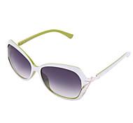 100% UV400 Women's Oversized Polycarbonate Retro Sunglasses