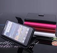 vendita calda 100% cuoio dell'unità di elaborazione del cuoio di vibrazione su e giù per il caso Lenovo P780 (colori assortiti)