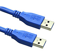 sensecheering usb3.0 16.4 pies 5m macho a USB 3.0 cable de extensión USB del envío libre masculino
