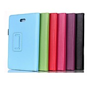 8 Inch Two Folding Pattern  PU Leather Case with Stand  for DELL Venue 8 Pro(Assorted Colors)