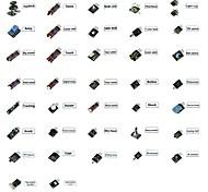 final 37 em 1 módulos sensores kit para arduino&usuário educação MCU 37 módulos