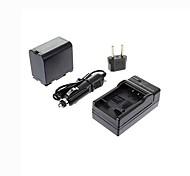 enchufe + cargador de coche ismartdigi-panasonic D28S (3600mAh, 7.2V) batería de la cámara + eu para CGP-d320 d220 GS11 GS15 DS25 55 180b D16S