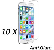 10 stuks matte anti-fingerprint voor screen protector voor iPhone 6s / 6