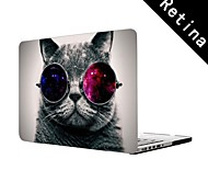 """Cool Cat Design Full-Body Protective Plastic Case for 13""""/15"""" MacBook-Pro with Retina Display"""