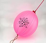 100 unidades de balão colorido (cor aleatória)