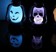 Pâques hallowmas portable conduit grange lanterne (couleur aléatoire)