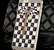Cute Bowknot Diamond PC Hard Case for iPhone 6 Plus