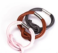 Fashion Leather Magnet Buckle Bracelet