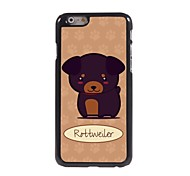 Cute Rottweiler Design Aluminum Hard Case for iPhone 6 Plus