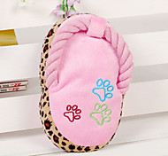Pets Molar Clinch Cotton Intonation Slipper Toy Assorted Color
