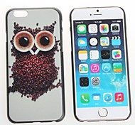 Nachteule Design Premium-Schutzabdeckung auf schützende Hartschale zurück Fall für iPhone 6