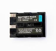 1500mah batería de la cámara digital de d-LI50 / np-400 para maxxum Minolta Dynax 7D aplicable 5d maxxum 5d Pentax K20D K10D