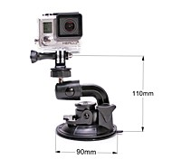 for Gopro Hero 4/ 3+ / 3 / 2 / 1 / SJ4000,Fat-Cat M-SC 90mm Super Powerful Suction Cup Car Mount