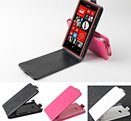 Hot Sale 100% PU Leather Flip Leather Up and Down Case for Nokia Lumia 720(Assorted Colors)
