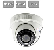 "YanSe® IR Dome Camera 1/3"" CMOS 1000TVL CCTV Vision Security Indoor Cameras 703CFW"