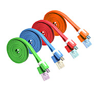 ALIP 3M 9.84FT USB2.0 Male to Micro USB Male Flat USB Cable Free Shipping
