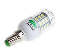 zweihnder e14 4w 600lm 6500k 24 x SMD 5730 llevó la lámpara de luz de maíz de luz blanca (CA 220V)