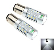 2Pcs 1157 / BAY15D 15W 15x Samsung 2323 SMD 1450LM 6000K White Light LED for Car Headlamp   (DC 10-30V)