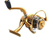 AF5000 Gold  Fishing Reel  AF5000 5.5:1  Spinning  Fishing Reels