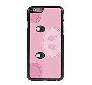 Cute Pig Design Aluminum Hard Case for iPhone 6 Plus