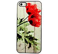 Rose blühen Muster Aluminium Hard Case für das iPhone 4/4S