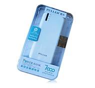 pl882 7000 mah batería externa portátil para iPhone6 / 6plus / 5s / 4s / 5 y otros dispositivos móviles