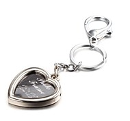 Heart Shape Selfie Photo Album Zinc Alloy Keychain(First 10 Customers With Box Added)