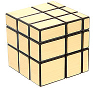 IQ Cube Magic Cube Shengshou Three-layer Mirror Smooth Speed Cube Magic Cube puzzle Black ABS