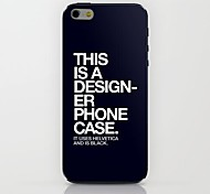 This Is Pattern hard Case for iPhone 6