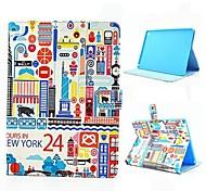 design cartoon pu pleine boîtier de corps avec support pour iPad 2 l'air
