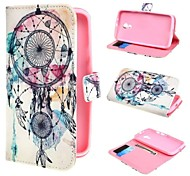 Dream Catcher Wallet PU Leather Case Cover with Stand and Card Slot for Motorola Moto G2 XT1063 Dual SIM