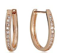 925 Sterling Silver Dazzle Month Hoop Earrings