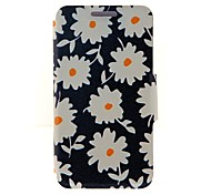 Kinston Beautiful Daisies Pattern PU Leather Full Body Case with Stand for iPhone 6
