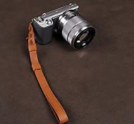 CAM-in CAM2053 Genuine Leather Wrist Strap for Camera(Brown)