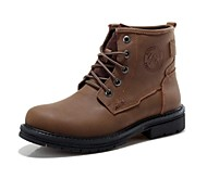 Men's Shoes Fashion Boots Comfort Round Toe Flat Heel Calf Hairl Ankle Boots More Colors available