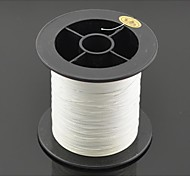 200M / 220 Yards PE Braided Line / Dyneema / Superline Fishing Line White 25LB 0.23 mm ForSea Fishing / Fly Fishing / Bait Casting /