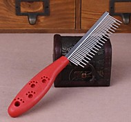Plastic Handle Comb for Pets Dogs