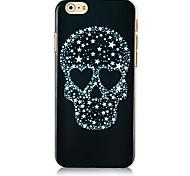 Star Skullcandy Pattern Hard Back Case for iPhone 6