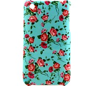 Safflower Pattern Hard Case for iPhone 3G/3GS