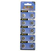 1.55V AG13 / 357a pila de botón de litio (10 piezas)
