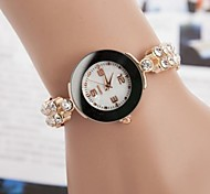 Women's Fashion Leisure Set Auger Belt Bracelet Watch(Assorted Colors)